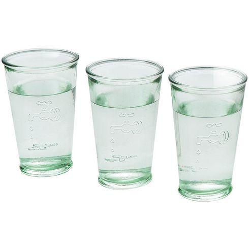 3 Waterglazen