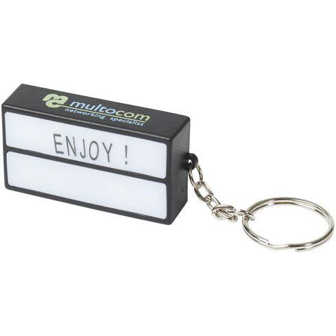 The Cinema lightbox sleutelhanger
