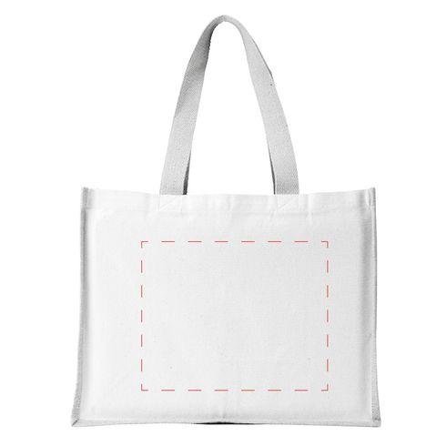 Jute Canvas Shopper tas