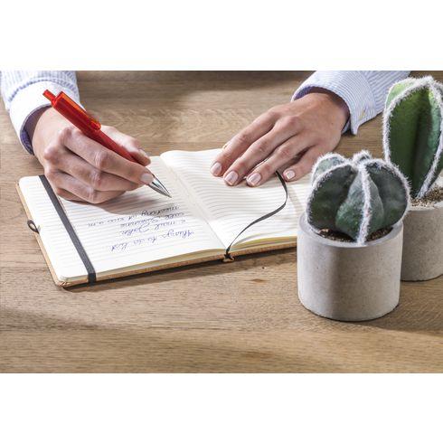 Promotionele pen met 3D ruitpatroon