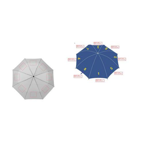 Bedrukte paraplu Colorado Mini