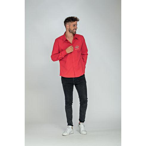 L&S Poplin Longsleeve Shirt herenbloes
