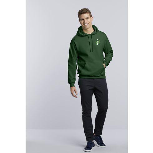 Gildan Hooded Heavyblend Sweater heren
