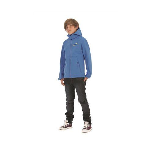 B&C Hooded Softshell Jacket kids jack