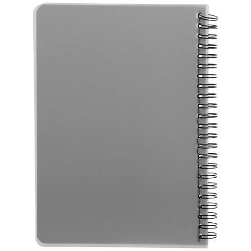 Colour-block A5 notitieboek met spiraal