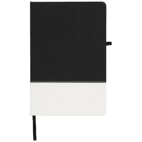 Two-tone A5 notitieboek met kleurenblokken