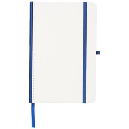 Notitieboek met gekleurde rug geschikt voor digitale bedrukking
