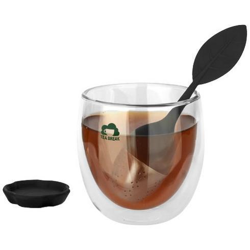 Spring theeset met glas en thee-ei