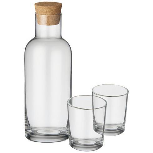 Lane set met karaf en glazen
