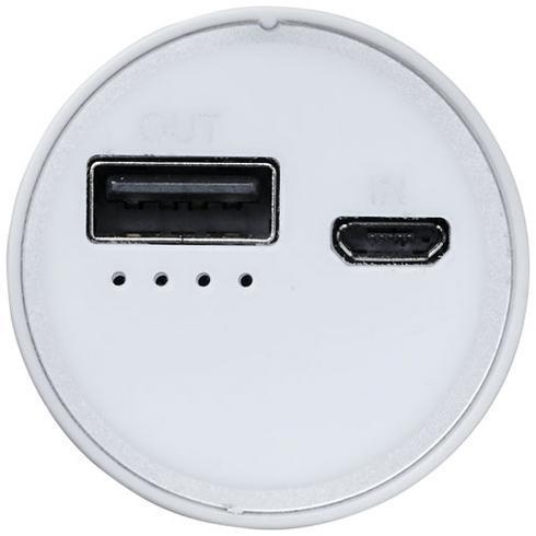 Bliz 6000 mAh powerbank met geïntegreerde 2-in-1-kabel