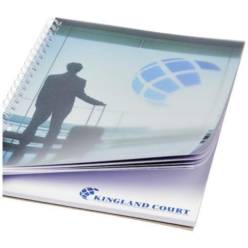 Desk-Mate® A5 wire-o notitieboek met PP-omslag