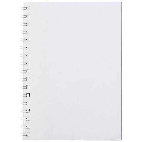 Desk-Mate® A6 wire-o notitieboek met PP-omslag