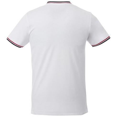 Elbert piqué heren t-shirt met korte mouwen