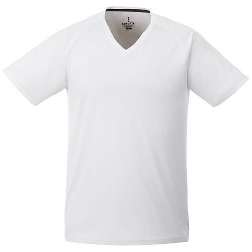 Amery cool fit V-hals heren t-shirt met korte mouwen