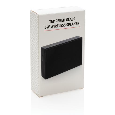 Tempered glass 3W draadloze speaker