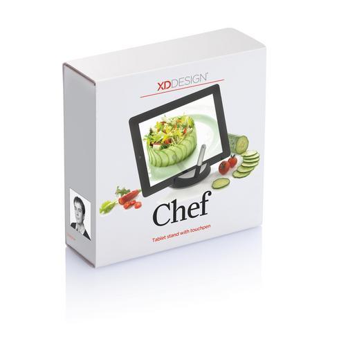 Chef tablet standaard met touchpen