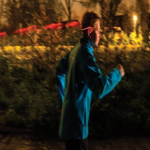Running LED hoofdtelefoon